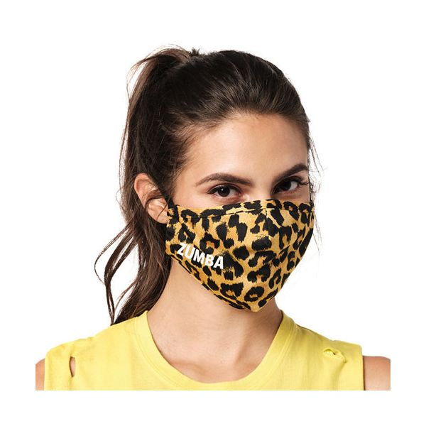 Wild For Zumba Face Cover